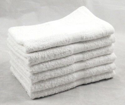 Gym Sports Yoga Fitness Towels 100% Cotton 450gsm 30cm x 85cm Pack of 12