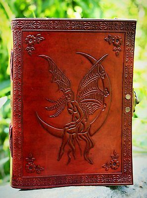 Angel Leather Journal Diary Notebook for Writing Leather Diary Handmade Leather