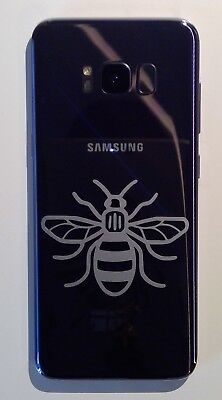 Small Manchester Bee! GLOSS or MATTE! Vinyl Decal Sticker Phone, Car, Laptop!
