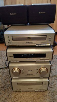 Technics Sterio System and Speakers 4 Piece Tower