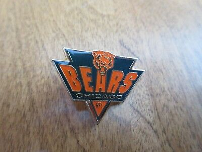 Vintage 1 1/4 inch CHICAGO BEARS NFC triangle football nfl