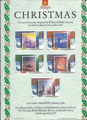Gb - Royal Mail Posters - A4 - 1988 - Christmas
