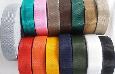 32MM PP Polyproplene Strapping Webbing Various Colors Luggage Bag Handle