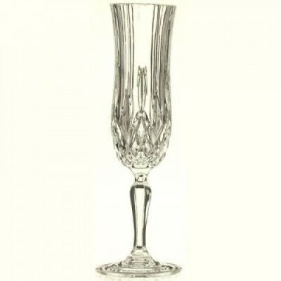 RCR Opera Crystal Champagne Glass, Set of 6. Free Delivery
