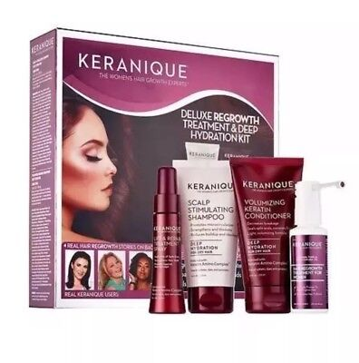 Keranique Hair 🌹Regrowth System -Shampoo/Condition/2% Minoxidil Solution + More