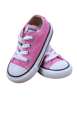 Kids Toddler Converse Chuck Taylor All Star Low 7J238 Pink