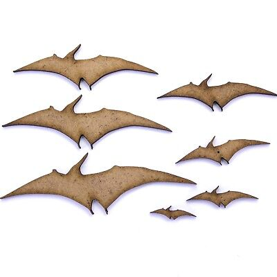 Pteranodon Dinosaur Craft Shape, Various Sizes, 2mm MDF Wood. Pterodactyl
