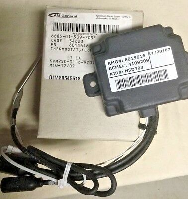 Flow Control Thermostat ;  M1114  M1151A1  ; 6685-01-539-7057  6015616  4109209