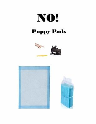 "300 Pads 17x24"" NO NO! Low Cost Pads Puppy Training Housebreaking Pee Pads"