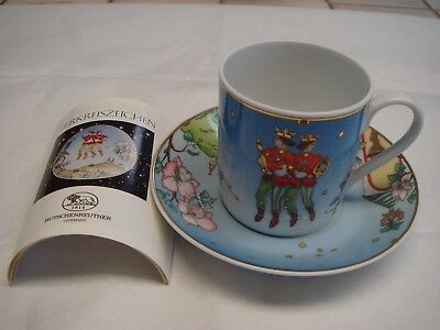 Vintage new Hutschenreuther made in Germany Tea Cup and Saucer set