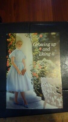 P.p.c.-1960 Growing Up And Liking It Pamphlet