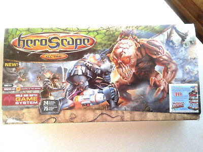 Heroscape Master Set Swamp of the Marro, Almost Complete, Missing 1 Figure, #J5