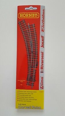 Hornby Track Left Hand Curved Point R8074 HO OO Model Trains