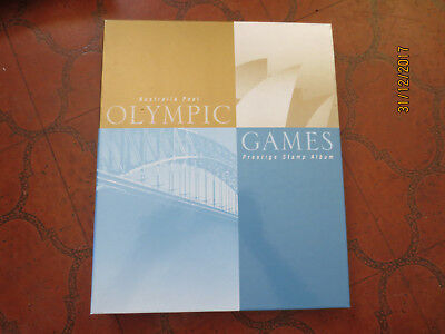 No--1 -2000 AUST;  POST  ISSUED  SPECIAL  OLYMPIC GAMES  PRESTIGE   ALBUM  FULL