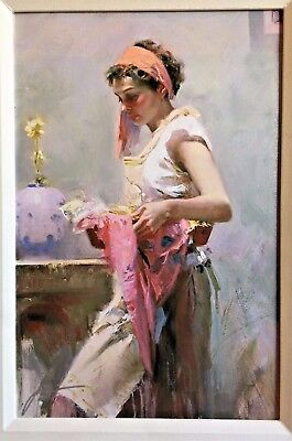 Pino Daeni - Dreamcatcher - Giclee on Canvas. Signed & Num. with Publisher COA