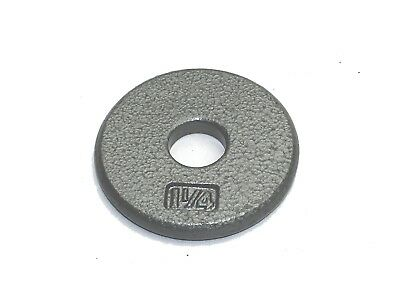 Apollo Athletics Regular Weight Plate, Medium/2.5cm. Shipping Included