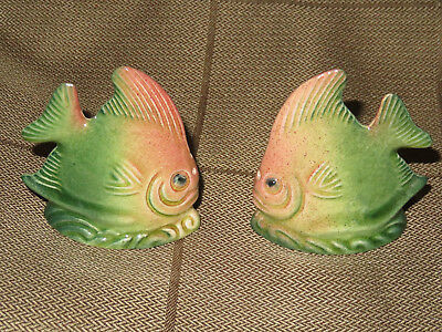Vintage Collectable Darbyshire Fish Salt And Pepper Shakers Made In Australia