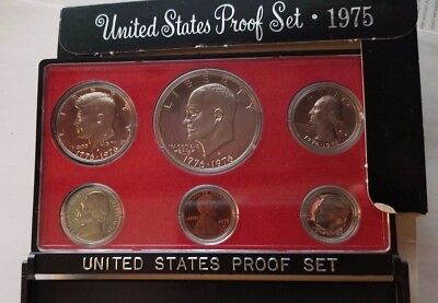 1975 United States US Mint  Proof Set