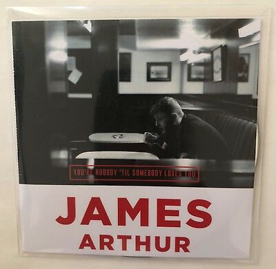 James Arthur 'You're Nobody 'Til Somebody Loves You' Promo Single CD (2013) NEW