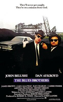 """The Blues Brothers ( 11"""" x 17"""" ) Movie  Collector's Poster Print  - B2G1F"""