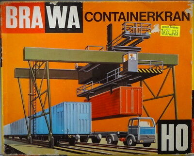 Brawa HO Container Crane and Base Code 7479-034