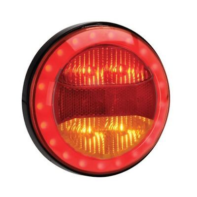 94318 Narva 9-33 Volt L.E.D Rear Stop and Direction Indicator Lamp with Red L.E.