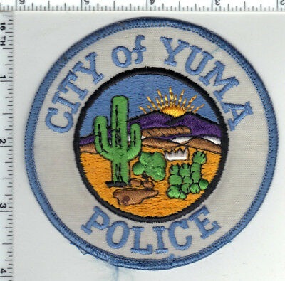 City of Yuma Police(Arizona) Shoulder Patch from the 1980's