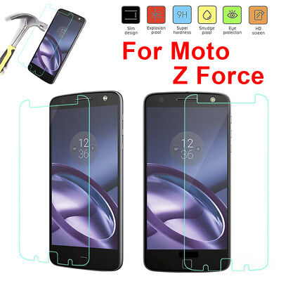 9H HD Tempered Glass Screen Protector for Motorola Moto Z Play/Force X Style YG