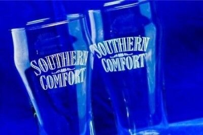Southern Comfort Tulip Pint Glass   Set of 2 Glasses. Best Price