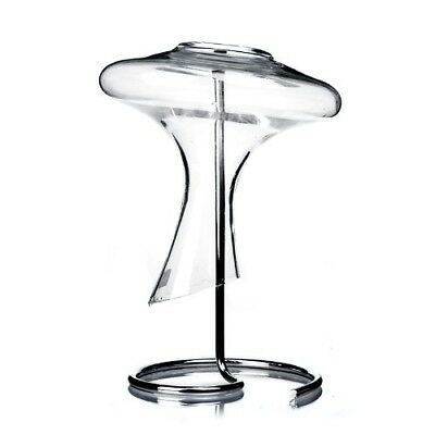 Zondam Decanter Drying Stand Stainless Steel Holder Wine Glass Rack