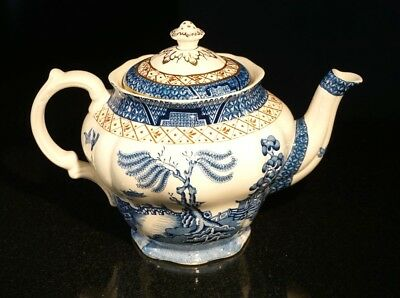 Booths Real Old Willow Teapot