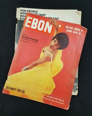 Ebony Magazine December 1965