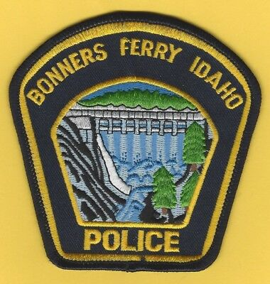 Bonners Ferry Police Department Patch ~ Idaho ~ Nice Detail & Colors ~ L@@k