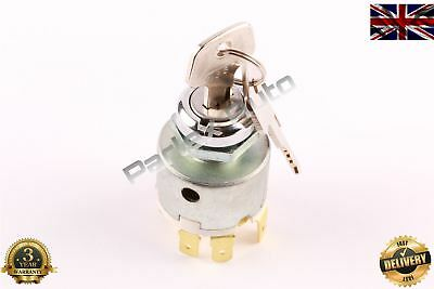 12V CAR MOTORBIKE IGNITION SWITCH WITH 2 KEYS (Equivalent to Lucas: SPB501)