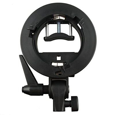 Godox S-type Bracket Bowens Mount Holder for Speedlite Flash Snoot Softbox