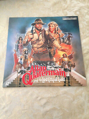 Allan Quatermain and the Lost City of Gold  NTSC laserdisc SF078-5501