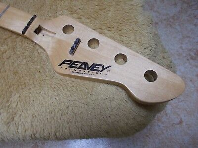1994 Peavey Foundation - 21 fret RH 4 string bass guitar neck - USA - Nice!!!