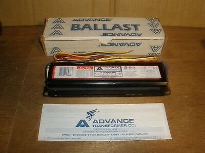 VEL-4P32-RH-TP Advance Electronic Ballast Instant Start 277V 3 Or 4 F32T8 RS/IS
