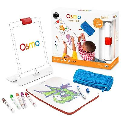 (Game + iPad base) - OSMO Education STEM Creative Kit Include Mirror and Base