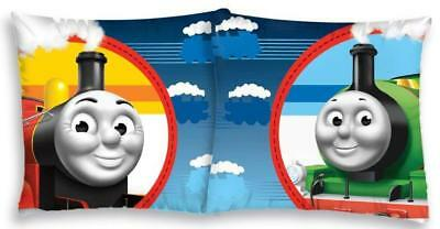 NEW THOMAS and Friends James cushion cover 40x40cm 100% COTTON train case 02