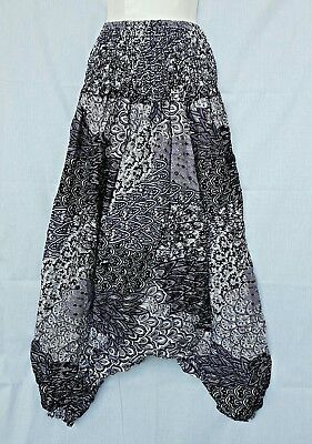 New Hippy Alibaba Boho Baggy Gypsy Harem Pants Yoga Trouser Flower Unique PH16LP