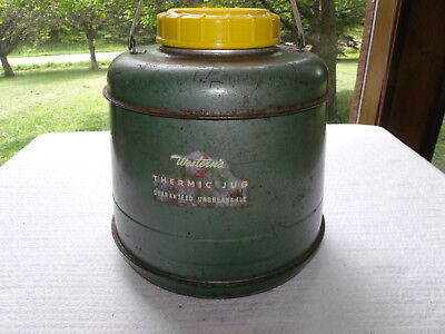 Vintage 1950's Western's Thermic Jug Guaranteed Unbreakable Western Auto Supply