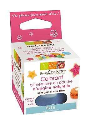 ScrapCooking Natural Colour - Powder - Blue