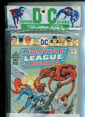 DC Super Stars Multi Pack A-4 (Justice League #129, Superman Family #176) 1976