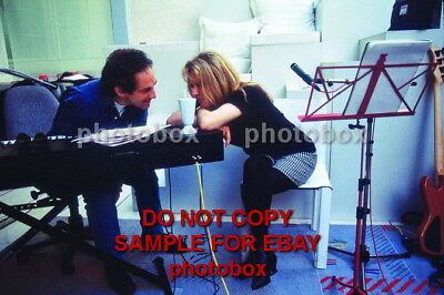 Exclusive Unpublished PHOTO Ref 130 Michel Berger Francoise Hardy France Gall