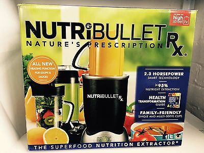 Original NutriBullet Rx 1700W Blender/Mixer Extractor 2.3 HP Powerful Blender