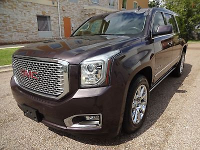2015 GMC Yukon Denali 2015 GMC Yukon Denali 4 Wheel Drive SUV 6.2L Ecotec V8 Engine Leather Interior