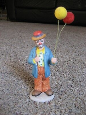 The Emmett Kelly Jr Collection, FLAMBRO,  Sad Clown with Balloons