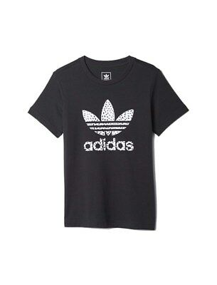 Junior Girls adidas Originals Trefoil T-shirt for ages 7 to 15 years S96084
