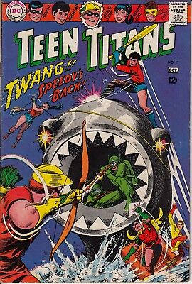 Teen Titans #11 Original Series! Speedy's Back! Solid Excellent Cond Silver Age